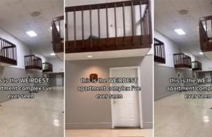 انتشار صور غريبة لمنزل مرعب بدون منافذ - شاهد