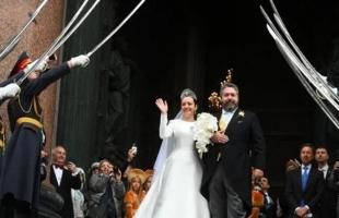 مراسم زفاف وريث آخر قياصرة روسيا - شاهد