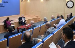 اشتية: الحكومة الفلسطينية تٌواجه أوضاع سياسية ومالية صعبة