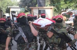 الديمقراطية تشيع جثمان عبد الحميد أبو جياب في موكب جنائزي مُهيب