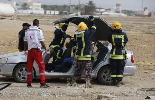 الدفاع المدني: طواقمنا تعاملت مع (38) حادثاً ومهمة في الضفة