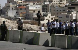 قوات الاحتلال تغلق مدخل بيتا جنوب نابلس بالمكعبات الاسمنتية