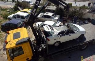 شرطة جنين تضبط 8 مركبات غير قانونية وتقبض على 27مطلوباً