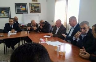 """""""لجنة المتابعة"""" تؤكد وقوفها الى جانب السلطات المحلية العربية في اضرابها المفتوح بأراضي (48)"""