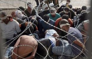 """لجنة الأسرى تعلن عودة """"الاعتصام الأسبوعي"""" بمقر الصليب الأحمر في غزة"""