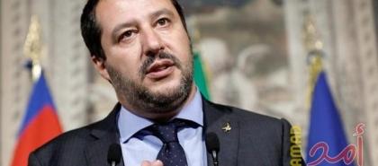 """وزير داخلية إيطاليا السابق""""سالفيني""""  أمام المحكمة بشأن سفينة لاجئين"""