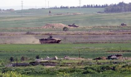 آليات جيش الاحتلال تتوغل شرق بيت حانون
