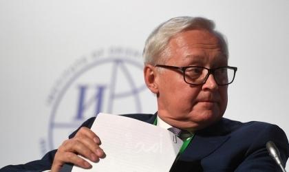 ريابكوف: نظام مراقبة التسلح يمر بأزمة واستبعد مشاركة الصين في مشاورات فيينا