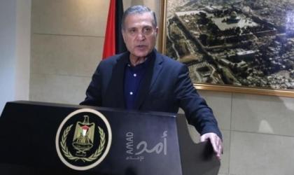 أبو ردينة: مستعدون لاستئناف العلاقات والاتصالات مع أمريكا بشرط