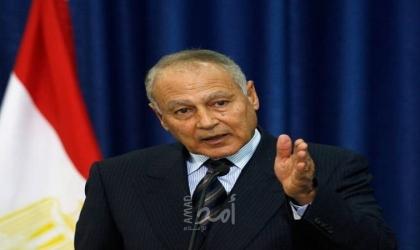 أبو الغيط يلتقي وفداً من المعارضة السورية