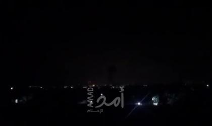 """أدرعي يعلن قضف مواقع عسكرية لحماس ردا على """"صواريخ غزة""""!"""