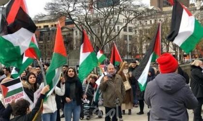 بروكسل: وقفة للتنديد بجرائم الاحتلال وانتهاكاته المستمرة بحق الشعب الفلسطيني
