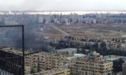 انفجار سيارة وسط العاصمة السورية دمشق -فيديو