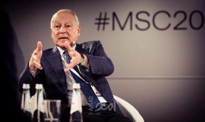 أبو الغيط: الجامعة العربية تحتضن العديد من المبادرات التي تتعلق بقطاع الشباب