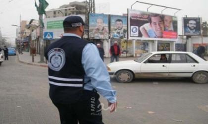 مرور غزة تعلن إغلاق جزئي بالقرب من ميدان فلسطين