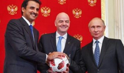 رويترز: تنظيم كأس العالم في قطر على المحك لأول مرة