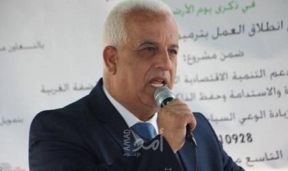 البكري يطلع القنصل العام المصري على الأوضاع السياسية والاقتصادية لمحافظة الخليل