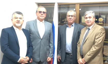 بركة وجبارين يلتقيان بالسفير الروسي في تل أبيب للتحذير من مخاطر الضم