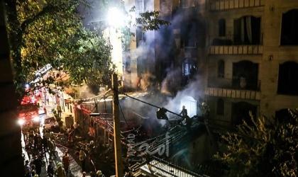 انفجار يهز  إيران والنيران تشتعل في مخازن الوقود- فيديو