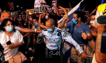 الأسبوع الـ20: الآلاف يتظاهرون ضد نتنياهو مطالبين برحيله