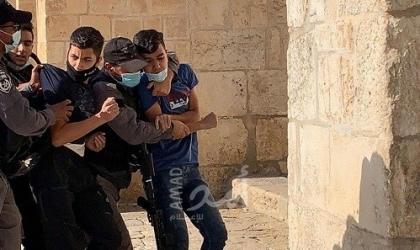 القدس: قوات الاحتلال يعتقل شابين من العيسوية