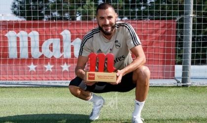 بنزيما يتوج بجائزة أفضل لاعب في ريال مدريد هذا الموسم - فيديو