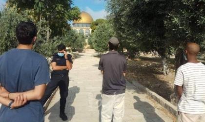 القدس: 79 مستوطنا وطالباً يهودياً اقتحموا ساحات المسجد الأقصى