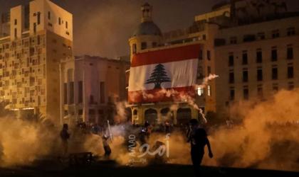 مظاهرات حاشدة في العاصمة اللبنانية مطالبة بإستقالة الحكومة