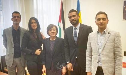 جمعية الرؤيا الفلسطينية تلتقي بسفيرة دولة فلسطين لدى السويد
