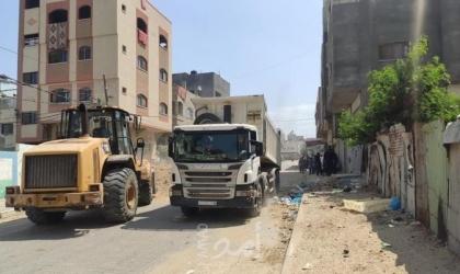 أشغال حماس  تسمح بعودة عمل شركات المقاولات