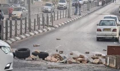 إصابة فتى بقنبلة غاز في الظهر بمواجهات كفر قدوم