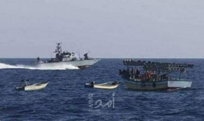 """بكر لـ""""أمد"""": زوارق الاحتلال تصادر مركب صيد في بحر رفح"""