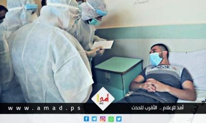"""صحة حماس: حالة وفاة و(154) اصابة جديدة بفايروس """"كورونا"""" في قطاع غزة"""