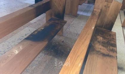 """(محدث4) قوى وشخصيات: إحراق """"كنيسة الجثمانية"""" جريمة تتحملها سلطات الاحتلال - فيديو"""