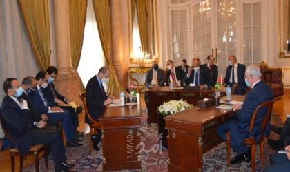 وزراء خارجية مصر والأردن وفلسطين: تحرك نحو استئناف مفاوضات تنهي جمود عملية السلام