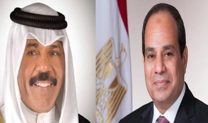 """""""السيسي"""" يتسلم رسالة من أمير الكويت بشأن المصالحة ووحدة الصف العربي"""