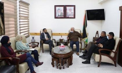 البكري يبحث مع القنصل الايطالي سبل تعزيز التعاون المشترك