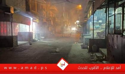 """نابلس: اشتباكات مسلحة في مخيم """"بلاطة"""" - فيديو وصور"""