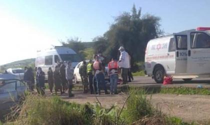 استشهاد شاب وإصابة آخرَين من رام الله دهساً بمركبة مستوطن في الأغوار- فيديو وصور