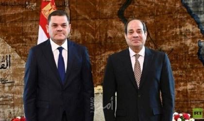 الدبيبة يشكل لجنة لرصد ولحل مشاكل الليبيين في مصر