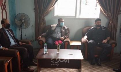 وكيل نيابة شمال غزة يناقش مع مدير عام مراكز الاصلاح والتأهيل محددات الاجازات البيتية للنزلاء