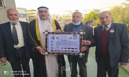 الاتحاد العربي للقبائل يسلم محافظ خانيونس رسالة البيعة للرئيس عباس