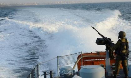 بحرية الاحتلال تهاجم مراكب الصيادين مقابل بحر شمال قطاع غزة
