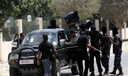 أمن حماس الداخلي يعتقل قائد سلفي ويطلق النار عليه داخل موقعه في رفح