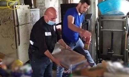 ضبط أكثر من 6 أطنان محارم من إنتاج المستوطنات في محافظة بيت لحم
