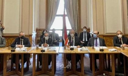 مصر وتركيا تصدران بيان مشترك بشأن قضايا ثنائية وإقليمية في القاهرة