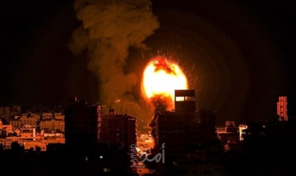بيان جيش الاحتلال عن قصف مواقع عسكرية في قطاع غزة