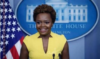 كارين جان بيار ثاني أمريكية من أصل إفريقي تتحدث باسم البيت الأبيض