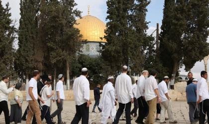 """القدس: عشرات المستوطنين يقتحمون """"المسجد الأقصى"""""""