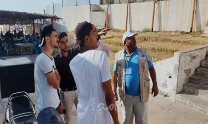 جمعية خريجي غزة تشارك البلدية بالحملة الثالثة من مبادرة هنعمرها